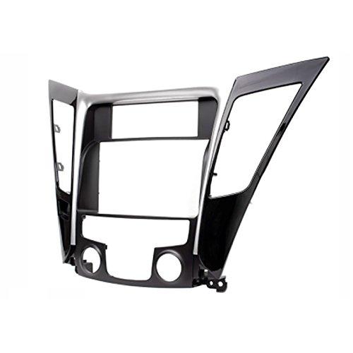 CARAV 11–139 Double DIN Radio stéréo adaptateur DVD Dash entourée d'installation Kit de garniture pour Hyundai Sonata, i-45 (YF) 2010–2014 (climatisation automatique)/Façade d'autoradio façade d'autoradio avec 173 * * * * * * * * 98 mm et 178 * * * * * * * * 102 mm