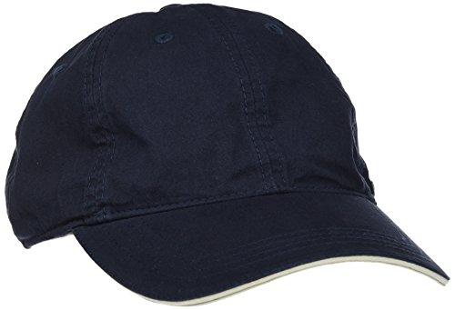 camel active Herren 406280 7C28 Baseball Cap, Blau (Blau-Blau/Dunkel 43), 90 (Herstellergröße: M)