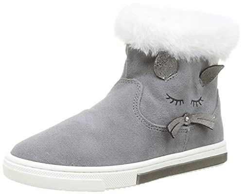 Primigi PGR 84063 Fashion Boot, Grigio, 27 EU