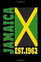 Jamaica Est. 1962: Jamaika / Karibik / Kingston / A5 / 6x9 / Kalender / Urlaub / Taschenbuch / Flagge