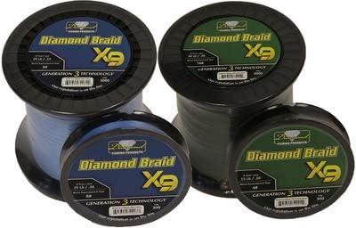 Momoi Diamond Braid Generation III Fishing - Line Green X9 Max 51% OFF High quality new Dark