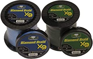 Momoi Diamond Braid Generation III Fishing Line X9 - Blue - 50lb - 3000 yds