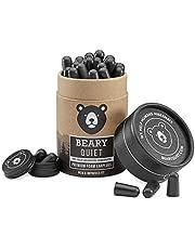30 pares de los mejores tapones para los oídos de Beary Quiet para dormir, tapones mejorados y reutilizables de espuma suave para los oídos