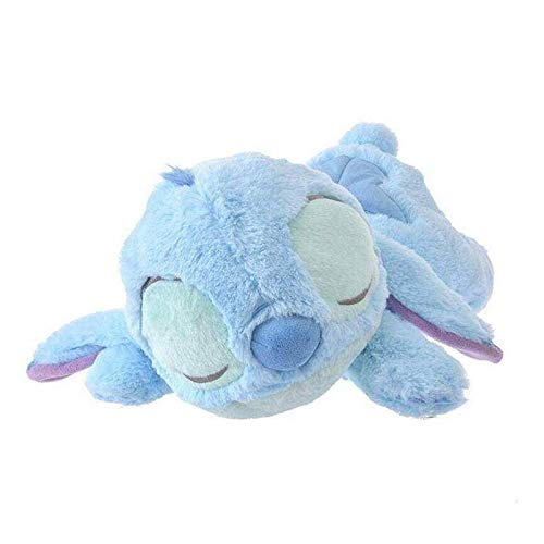 zjq Kuscheltier 40-50 cm Stich Schlafen Plüschtier Puppe Kuscheltier Kissen Kinder Geschenk