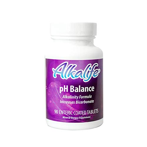 Alkalife pH Balance Tablets   The First Patented Tablets That Neutralize Acid & Balance pH for Immune Support, Peak Performance, Detox, Wellness, Weight Loss & Reducing Inflammation – 90 Tablets