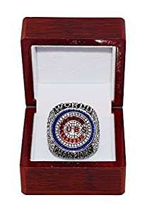 CHICAGO CUBS (Kris Bryant) 2016 WORLD SERIES CHAMPIONS (Ending the Curse of the Billy Goat) Wrigley Field Rare & Collectible High-Quality Replica Baseball Silver Championship Ring