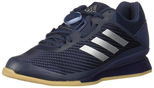 adidas Men's Leistung.16 II Cross Trainer, Trace Blue/Metallic Silver/raw Grey, 10.5 M US