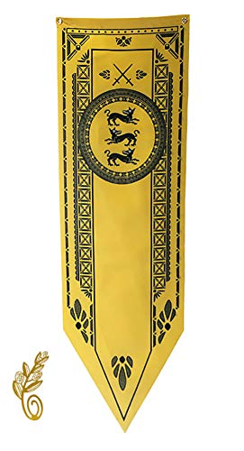DSSPARTY Bandera de jardín para Regalo de cumpleaños, [45CM X 149CM], Maravillosa Pancarta para la Fiesta de Juego de Tronos