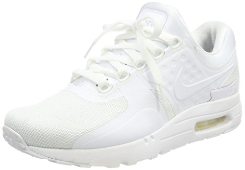 Nike AIR MAX ZERO ESSENTIAL MENS running-shoes 876070-100_9.5 - WHITE/WHITE-WOLF GREY-PURE PLATINUM