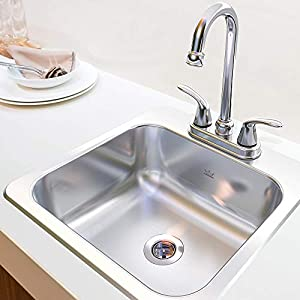 KINDRED FBFS602NKIT  Stainless Steel Utility Sink