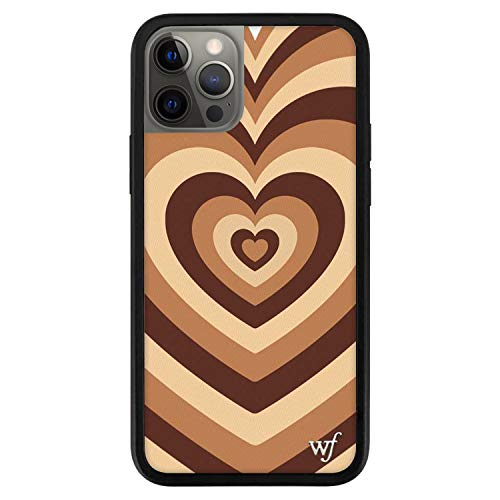 Wildflower Limited Edition Cases Compatible with iPhone 12 Pro Max (Coffee Hearts)