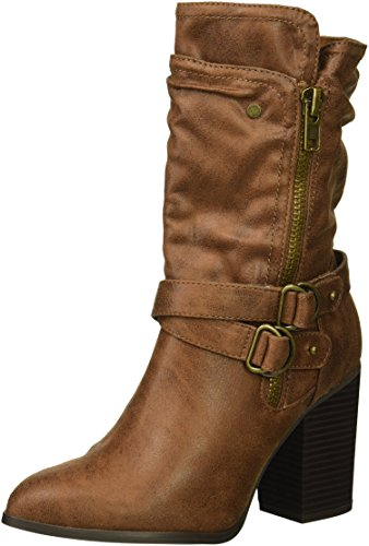 Carlos by Carlos Santana Women's PAISLEY Fashion Boot, Tan, 5 Medium US