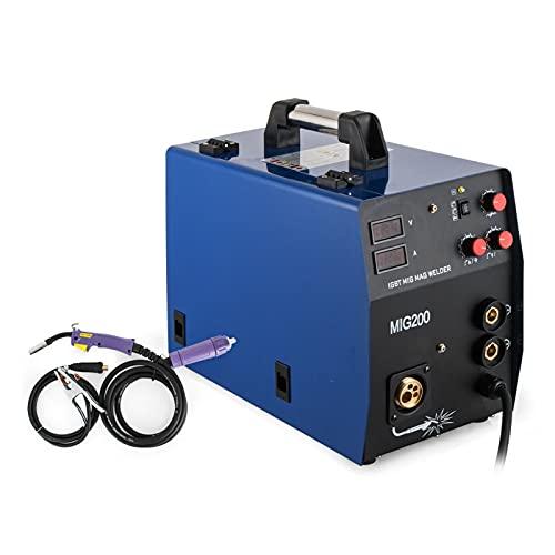 Máquina de soldador MAMA MIG MAG 200A Máquina de soldadura inversor MIG...