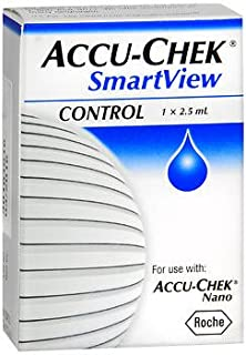 Accu-Chek SmartView Control Solution - 2.5 ml, Pack of 2