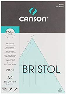 Canson Drawing book, 250 g, 20 A4 Papers
