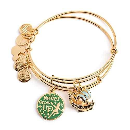 Disney Parks Alex & ANI Peter Pan Bangle Bracelet Set