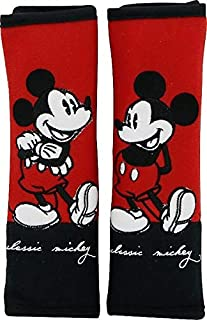 Mickey Mouse Seat Belt Covers (Pair) Classic Mickey