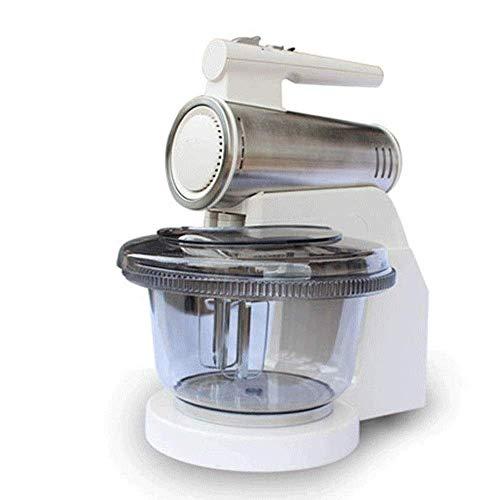 Batidora eléctrica de huevo mano Mezclador Batir adjuntos con acero inoxidable, ganchos for masa y batidor globo DDLS (Color : -, Size : -)