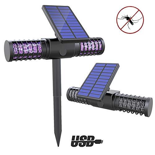 YHDQ Trampa para Mosquitos, insecticida matadora de Mosquitos Solar LE