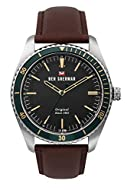 Ben Sherman Mens Analogue Classic Quartz Watch with Leather Strap WBS114NT