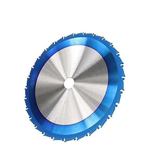 SHENYF-Hua 255x25.4x80T Circular Hoja de Sierra de Disco Nano lámina de Revestimiento de Madera de Corte de la Hoja con Punta de carburo Disco de Corte (Color : 255x25.4x28T)
