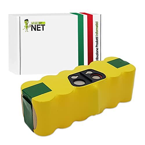 Batteria compatibile per iRobot Roomba 500, 510, 520, 521, 530, 531, 532, 535, 540, 550, 555, 560, 562, 570, 580, 610 Professional