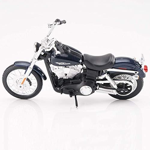 Yppss Modelo de juguete Modelo de la motocicleta Harley HD-18 Road Locomotive Simulación Aleación de fundición a presión de juguete colección de joyería eternal