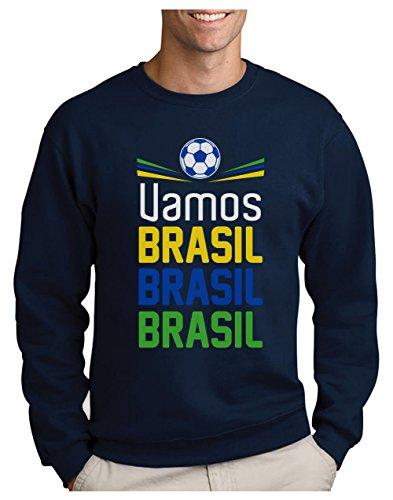 Green Turtle T-Shirts Sudadera para Hombre - Apoya la Selección Brasil en el Mundial de Rusia 2018!