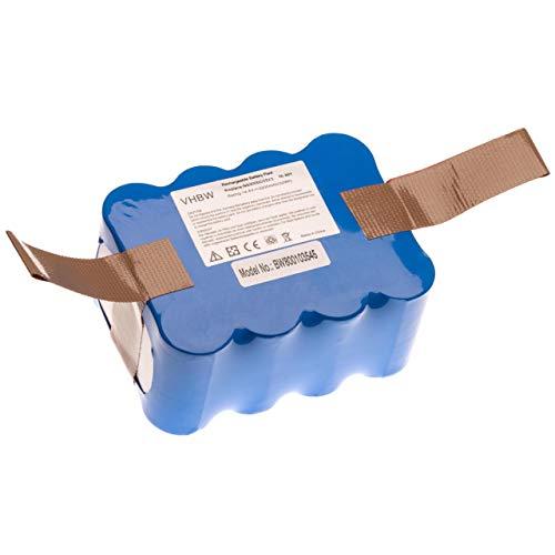 vhbw Batteria (2200mAh, 14,4V, NiMH) compatibile con Amtidy A325 Mini aspirapolvere, Home Cleaner