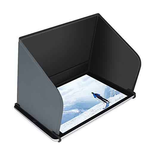 Hensych - Cappuccio piatto pieghevole per Mavic Mini/Mini 2/Air 2/Air 2S/Pro/Mavic 2/Phantom Series/FIMI X8 SE/EVO ecc. Drone telecomando per telefono cellulare, cappa parasole (lunghezza  22 cm)