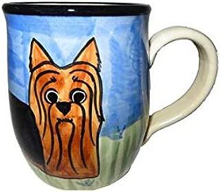 Karen Donleavy Designs Deluxe Yorkshire Terrier Mug