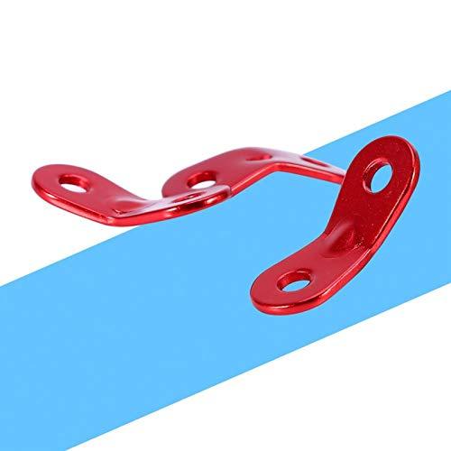 Meiyya Sujetador de Cuerda para Tienda, tensores de Cable para toldo, aleación de Aluminio, diseño de Doble Hueco para Aventuras al Aire Libre, para campamentos de Verano, para Turismo, para Sacos