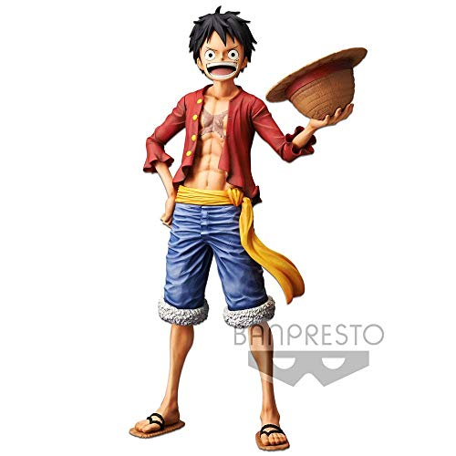 Estatua Nero Monkey D. Luffy 28 cm. One Piece. Banpresto. Grandista