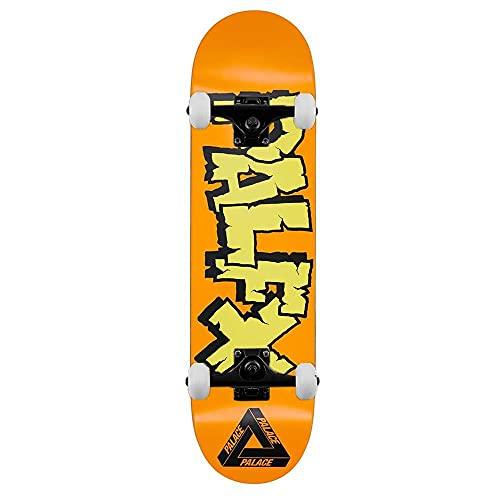 Palace Skateboards NEIN FX - Skateboard completo, 20,6 cm, colore: Arancione