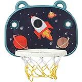 MHCYKJ Mini Canasta De Baloncesto para Casa La Puerta Aro Tablero Montado En Pared Bomba Bola Oficina Junta Niños Deportes Infantil
