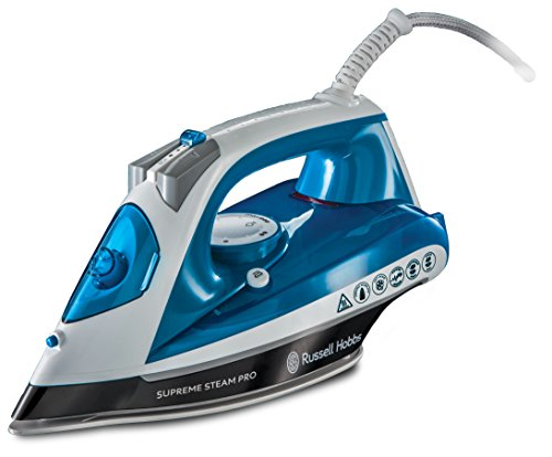 Russell Hobbs 23971-56 Supreme Steam Pro Fer, 2600 W, 310 milliliters, Bleu