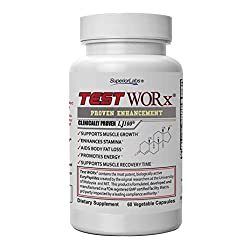 Superior Labs TEST WORx Natural Testosterone Booster With Clinically