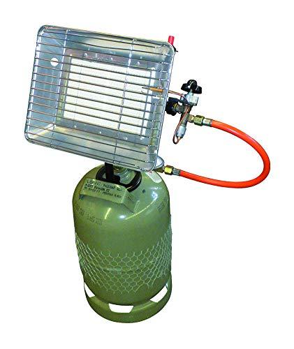 Rothenberger IndustrialHeiz – Strahler – VERSION DEUTSCHLAND – Gasheizstrahler mit Piezo Zündung, betrieben mit Propan – Gas für 5 kg oder 11 kg Flaschen - 3