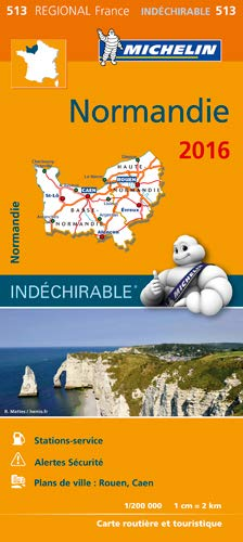 Carte Normandie 2016 Michelin