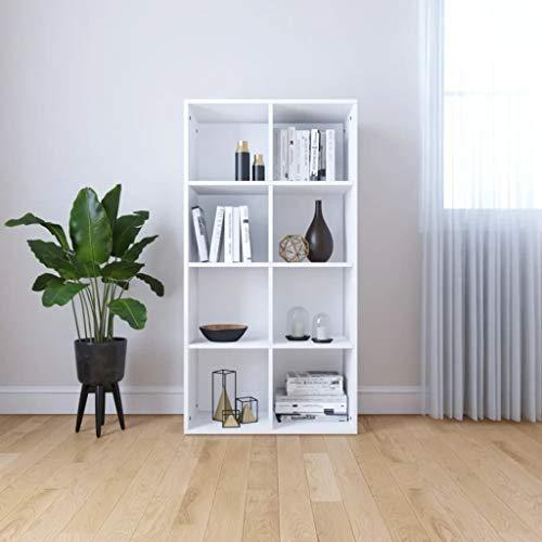 UnfadeMemory Estantería Librería Versátil,Mueble de TV(Colocarse Horizontalmente),Estantería de Libros para Salon Oficina...