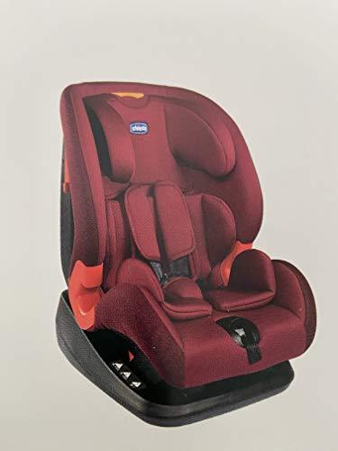 Chicco Silla de Auto Akita Standard Red Passion - Sillas de Coche, Grupo 1/2/3, Unisex