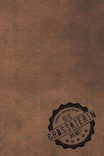 Geprüft und Bestätigt beste Grasskierin der Welt: inkl. Terminplaner   Kalender 2020 ★   Das perfekte Geschenk für Frauen, die Gras ski laufen   ... Gras ski laufen - Geschenkidee - Geschenke
