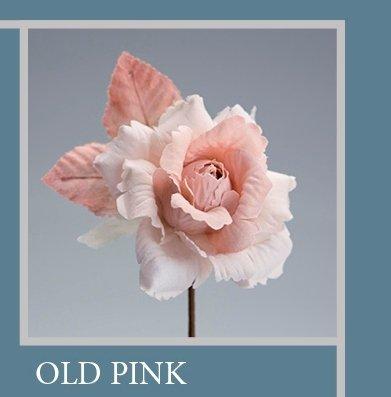 Set 6 pièces, Bonbonnière Fleur Bouquet Rose ad hoc, cm15 x 8 (ck5005-op6) (Old Pink)