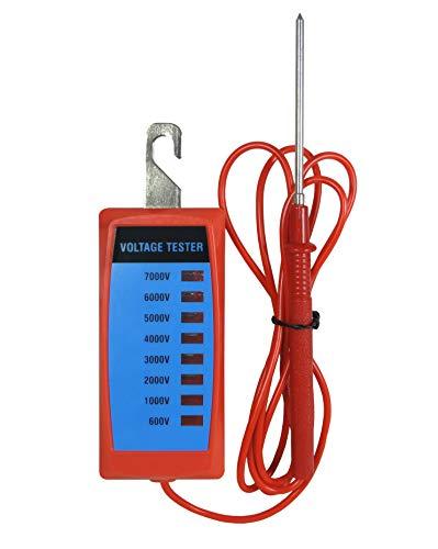 Koll Living Fence Zaunprüfer 600-7.000 Volt - für die tägliche Kontrolle des Elektrozauns - mit gut sichtbaren LED Dioden