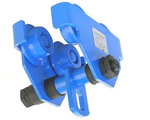 Pro-Lift-Montagetechnik 5000kg Laufkatze, schwere Ausführung, mit Anschlagwinkeln, N, 00846
