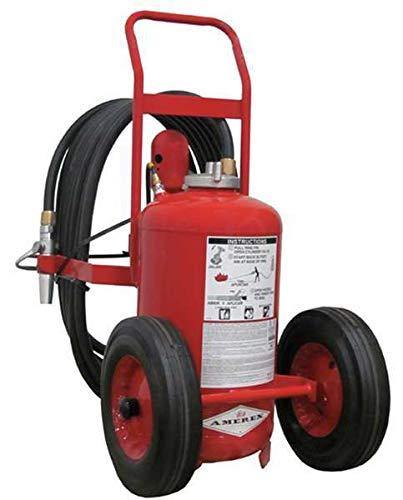 Wheeled Fire Extinguisher, 125 lb., 50 ft.