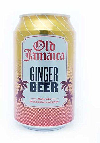 Old Jamaica - Barattolo per birra allo zenzero, 24 x 330 ml