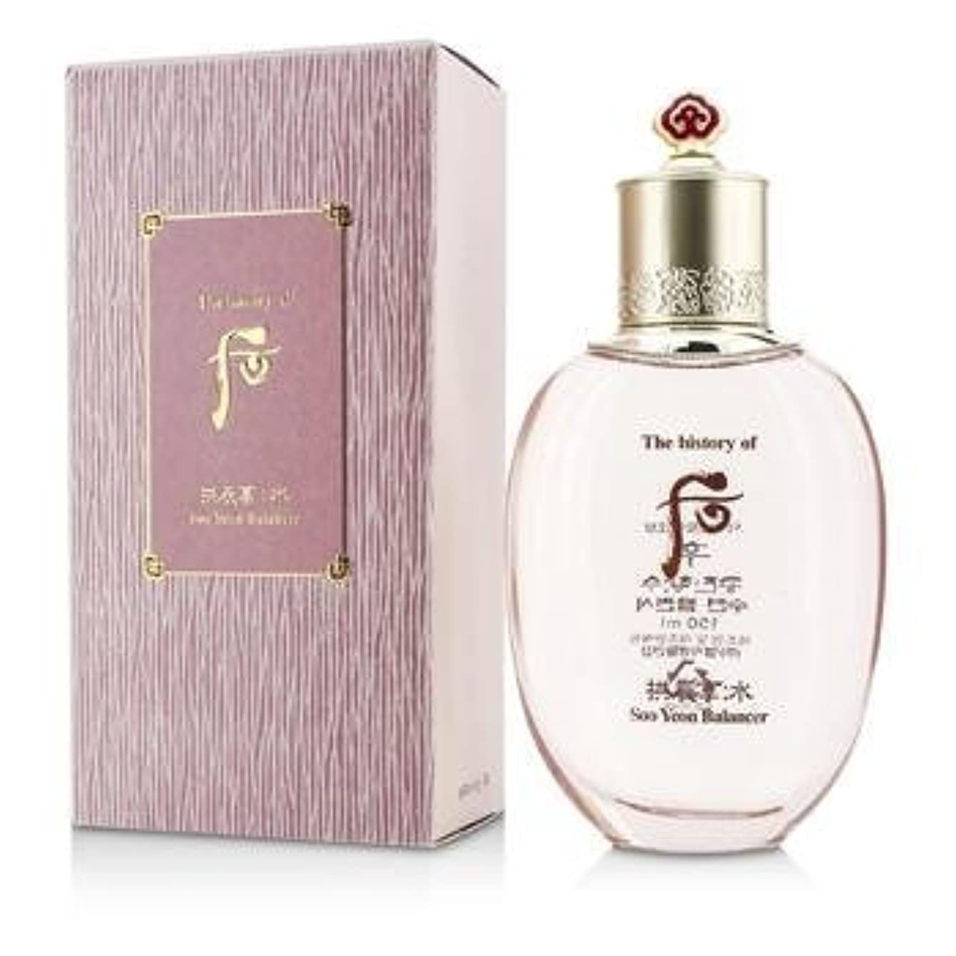 拘束ルートパイルThe History Of Whoo Gongjinhyang Soo Soo Yeon Balancer 150ml/5.07oz[並行輸入品]