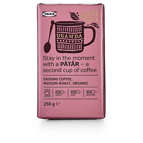 Påtår Filterkaffee, mittlere Röstung Uganda / 100% Arabica Bohnen / UTZ zertifiziert / Bio