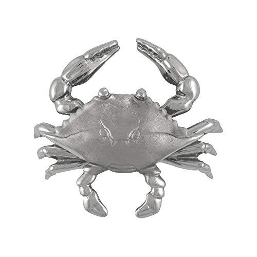 Blue Crab Door Knocker - Nickel (Standard Size)